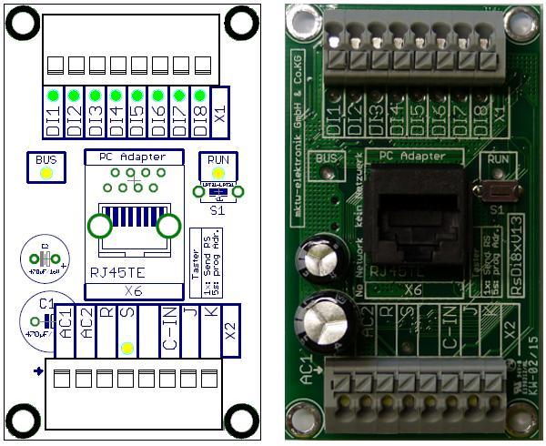RsDi8 – Rückmeldekoppler